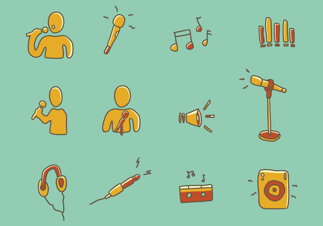 Music Icon - Free vector #441615