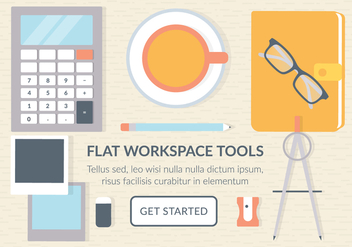 Free Business Workspace Vector Elements - Kostenloses vector #441745