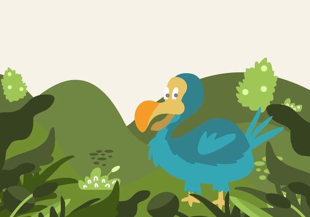 Dodo Illustration - vector gratuit #441985