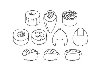 Free Japanese Food Icon Vector - vector gratuit #442335