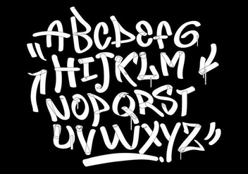 Graffiti marker tags style - Free vector #442475