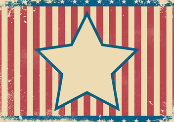 Patriotic Grunge Background Illustration - vector #442495 gratis