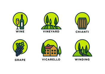 Tuscany Line Icon Free Vector - Free vector #442695