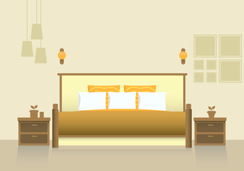 Headboard Bedroom and Furniture - vector #443035 gratis