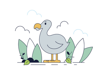 Free Dodo Bird Vector - бесплатный vector #443165