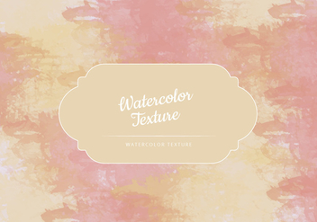 Vector Watercolor Colorful Texture - бесплатный vector #443435