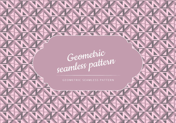 Vector Geometric Seamless Pattern - vector #443655 gratis