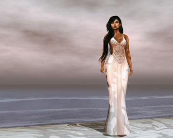 Ivyanna Gown by United Colors @ Fameshed - image gratuit #443735