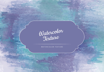 Vector Watercolor Green and Blue Texture - Kostenloses vector #443875