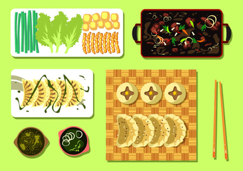 Chicken Dumplings Free Vector - vector #443935 gratis