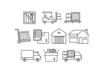 Free Moving Line Icon Vector - бесплатный vector #444005
