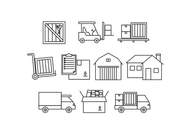 Free Moving Line Icon Vector - Kostenloses vector #444005