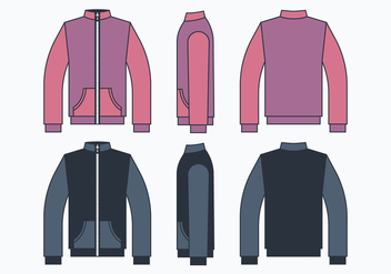 Windbreaker Jacket - Kostenloses vector #444235