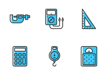 Measuring Tool Icon - vector #444795 gratis