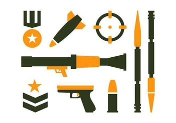 Army Vector Pack - vector #444805 gratis