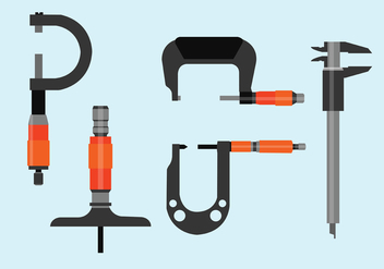 Micrometer Vector Pack - Free vector #445045