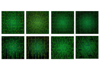 Matrix Background Pack - Free vector #445565