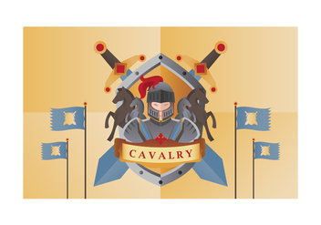 Free Cavalry Vector Illustration - бесплатный vector #445745
