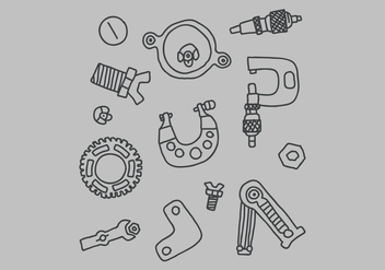 Instruments For Measuring - Free vector #446025