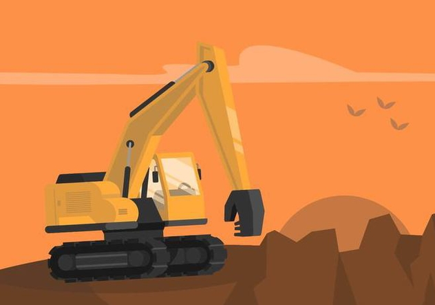 Demolition Illustration - vector gratuit #446095