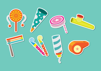 Noise Maker Icons - vector gratuit #446335