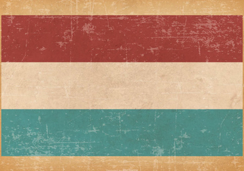 Grunge Flag of Luxembourg - vector #446345 gratis
