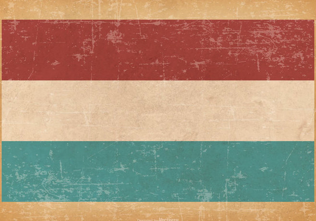 Grunge Flag of Luxembourg - бесплатный vector #446345