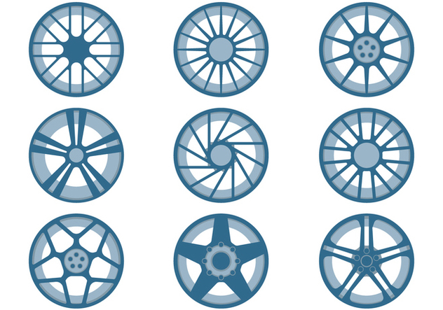 Car Rims - Free vector #446385