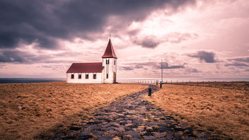 Hellnar church - Iceland - Travel photography - Kostenloses image #447565