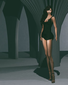 Raven Dress by Masoom @ Souled Out - image #448075 gratis