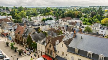 French architecture top view - image gratuit #448175