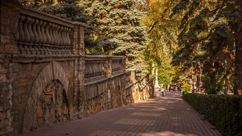 Romantic autumn alley - Free image #448185