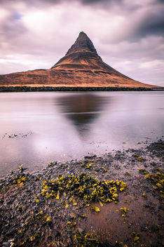Kirkjufell mountain - Iceland - Travel photography - бесплатный image #448375