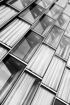 Office windows - An oblique view - image #448385 gratis