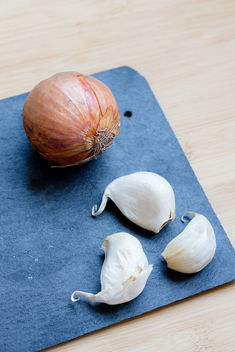 Products, garlic and onion - Free image #448525