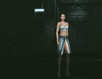 Jeans Skirt by United Colors @ 4mesh - бесплатный image #448575
