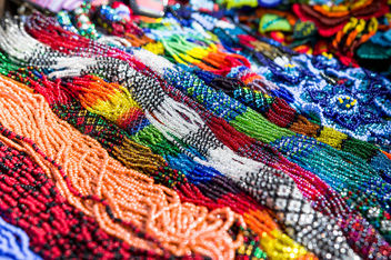 Colorful bead necklaces.jpg - image #450595 gratis