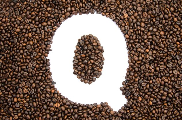 Alphabet of coffee beans - Free image #451915