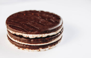 Chocolate rice cakes. Healthy dessert.jpg - бесплатный image #452155