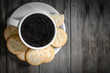 #coffee and cookie - image #452425 gratis