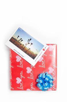 #giftbox, #gift, #box, #postcard - image #452555 gratis