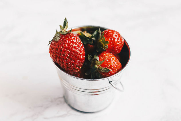 Close up of fresh strawberries - image gratuit #453045