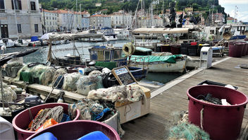 Fishing boats - image #454165 gratis