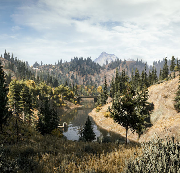 Far Cry 5 / Watching the River - Free image #455125