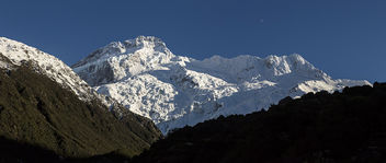 Moon over Mt Sefton - Free image #455525