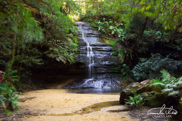 Blue Mountains Waterfall - Kostenloses image #456255