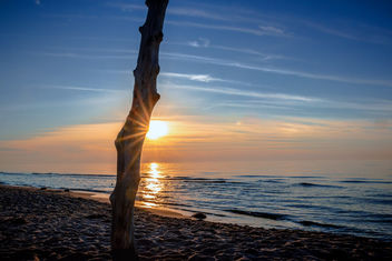 Sunset at the Westbeach - image gratuit #457005