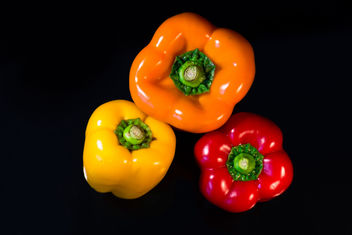 Three Bell Pepper - image gratuit #459415