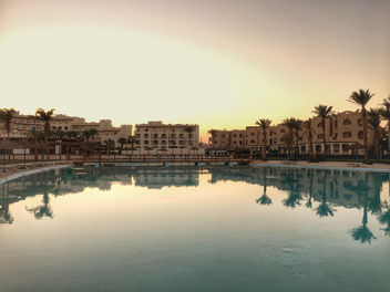 Royal Aqua Lagoon sunset, Hurghada, Egypt - Free image #459825