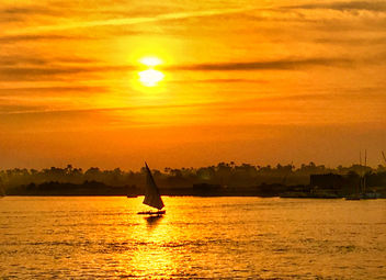 Luxor sunset, Egypt - Free image #459855